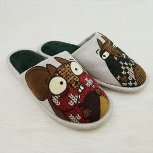 Papuci de casa Benetton copii, masura 33-34